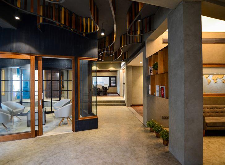 Glulam office SpacesArchitects at ka indiaartndesign