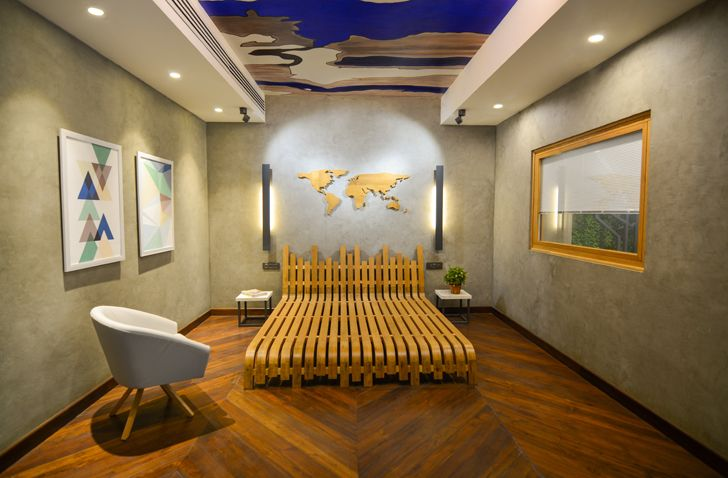 """display Glulam office SpacesArchitects at ka indiaartndesign"""