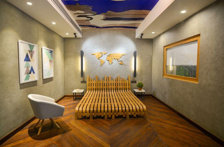 display Glulam office SpacesArchitects at ka indiaartndesign