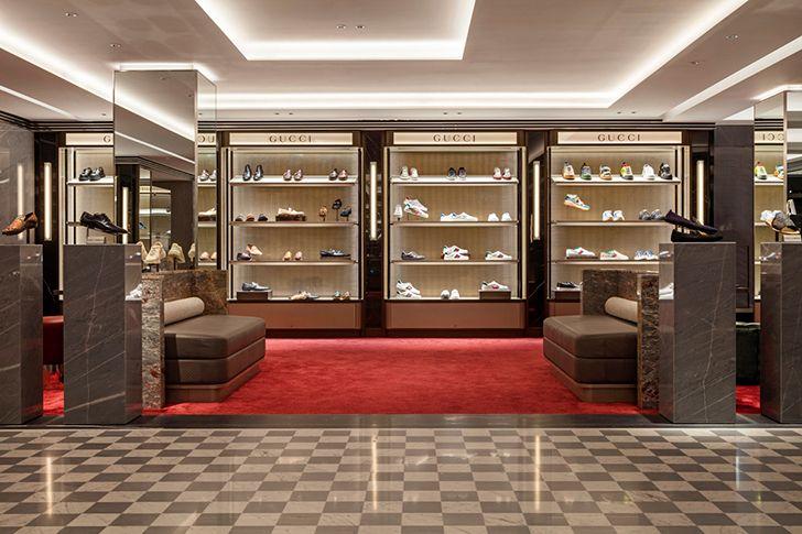 Harrods Mens Shoes DavidCollinsStudio indiaartndesign