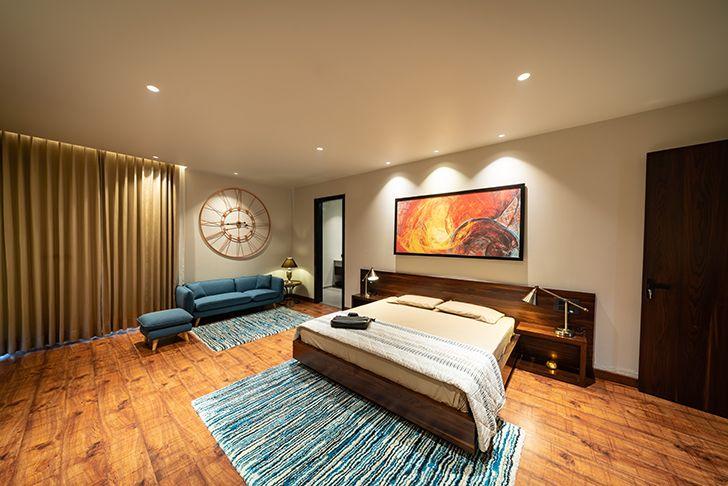 bedroom home jalandhar spaceracearchitects indiaartndesign