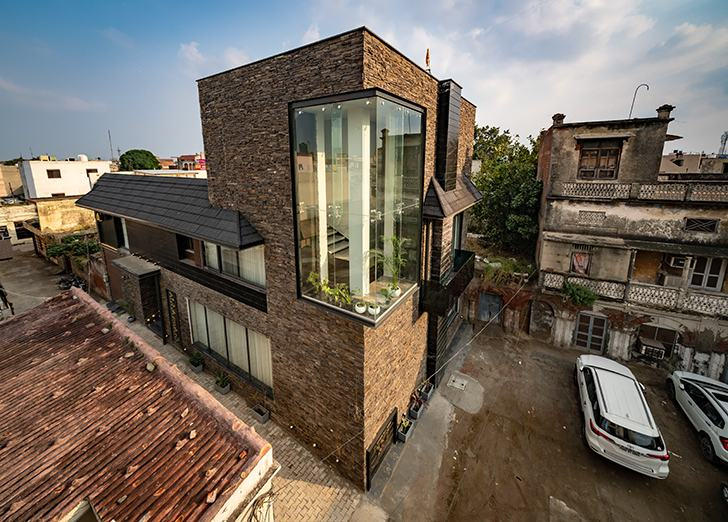 by day home jalandhar spaceracearchitects indiaartndesign