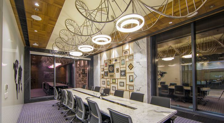 """conference room Varindera constructions studio design cosmos indiaartndesign"""