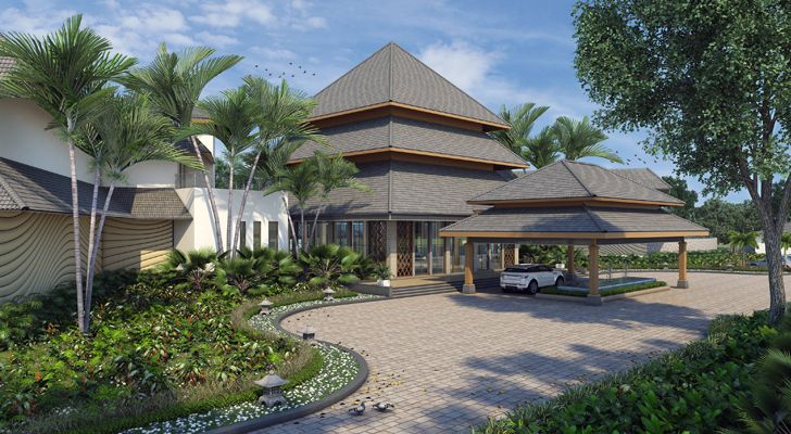 """drop off westin resort jaipur gpm architects indiaartndesign"""