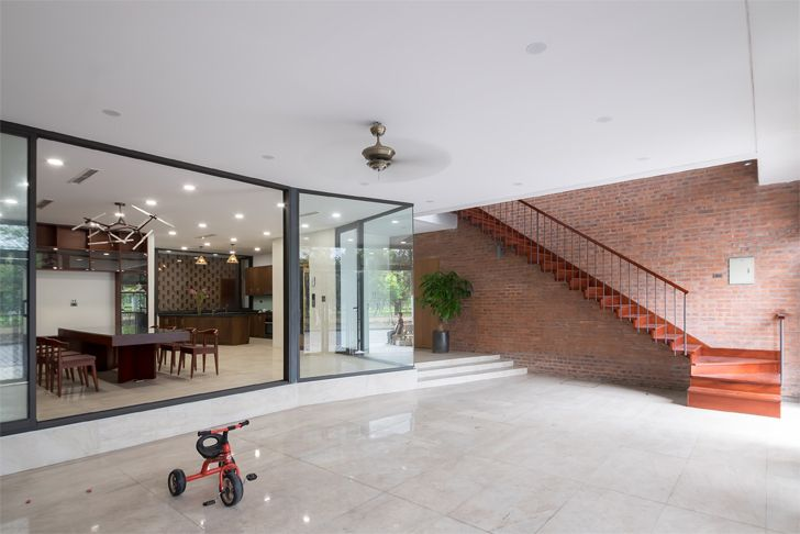 """Vietnam house H&P Architects indiaartndesign"""