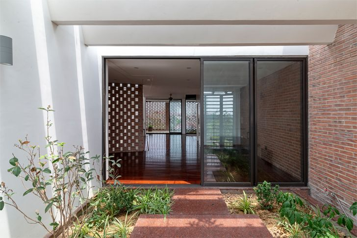 """""""entrance Vietnam house H&P Architects indiaartndesign"""""""