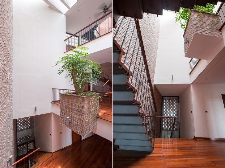 """""""play of levels Vietnam house H&P Architects indiaartndesign"""""""