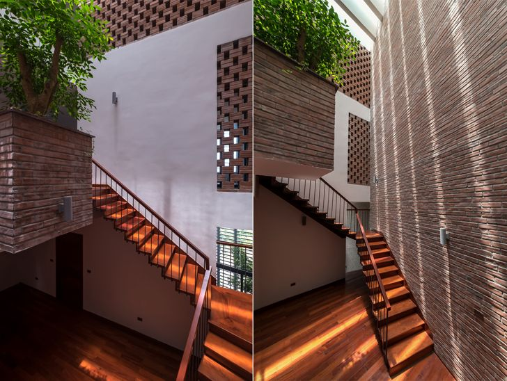 """""""stairs Vietnam house H&P Architects indiaartndesign"""""""