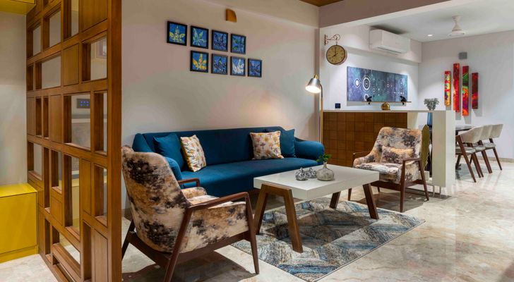 Warmth, elegance and inherent bonding define this home in Ahmedabad
