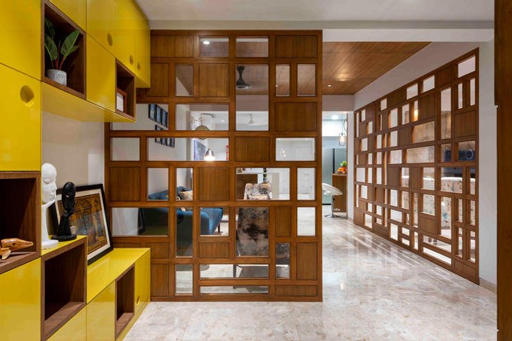 """entrance space ahmedabad residence ignitus architecture studio indiaartndesign"""