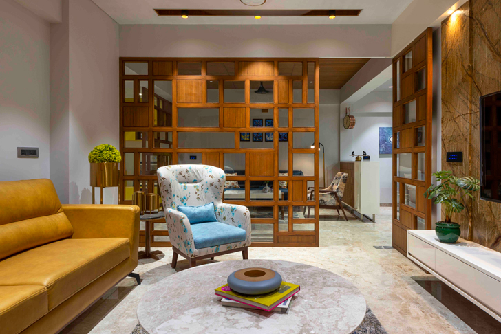 """family room ahmedabad residence ignitus architecture studio indiaartndesign"""