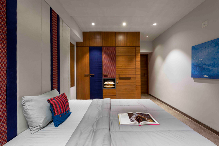 """guest bedroom ahmedabad residence ignitus architecture studio indiaartndesign"""