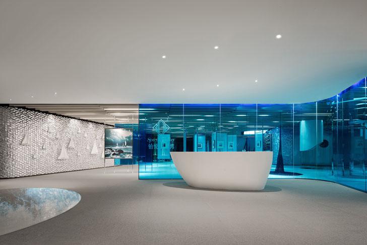 """CiFi Sales Center Qingdao ippolito fleitz group indiaartndesign"""