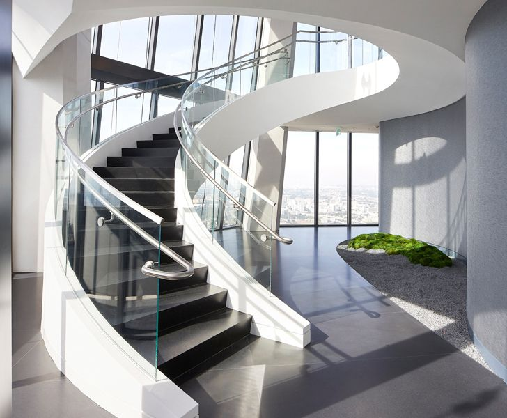 """""""grand staircase One Thousand Museum Zaha Hadid Architects indiaartndesign"""""""