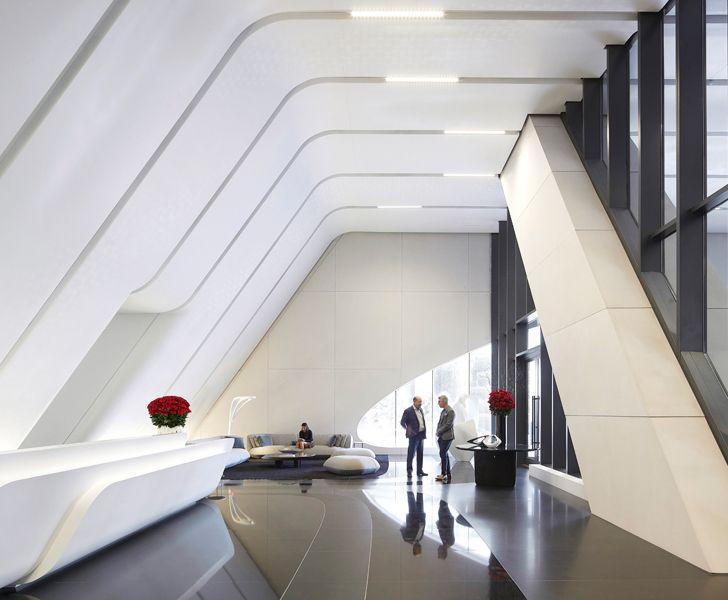 """interiors One Thousand Museum Zaha Hadid Architects indiaartndesign"""