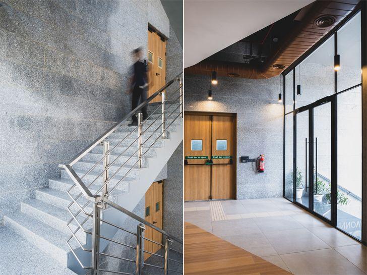 """double height spaces urban loop kohler innovation centre AKDA indiaartndesign"""