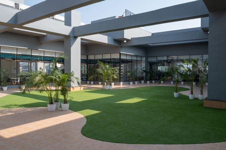 """terrace garden urban loop kohler innovation centre AKDA indiaartndesign"""