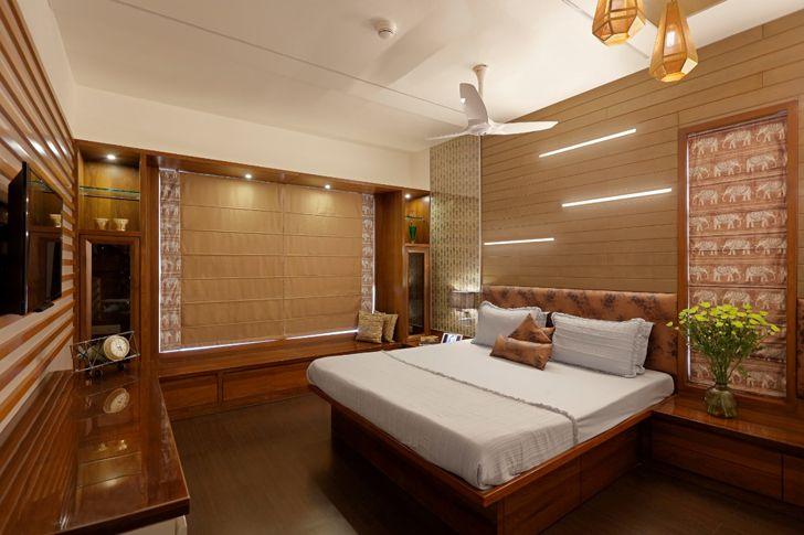 """bedroom pune residence cluster one creative solutions indiaartndesign"""