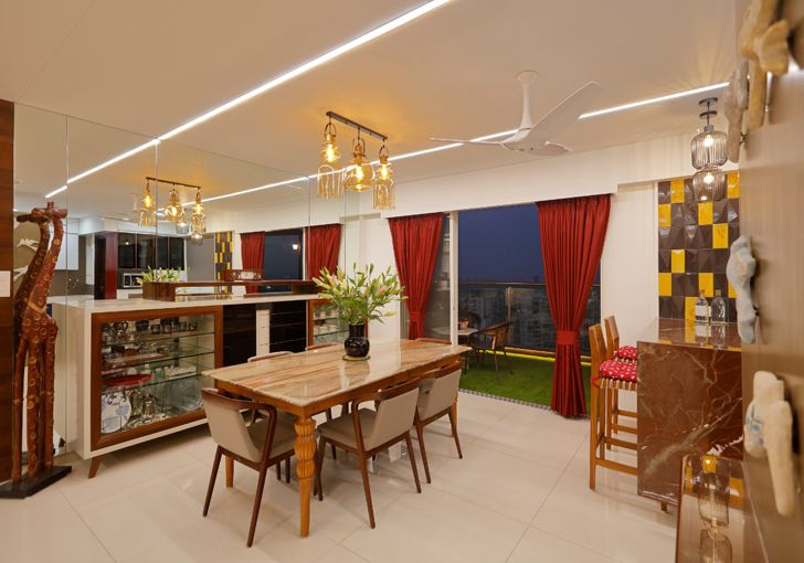 """""""dining pune residence cluster one creative solutions indiaartndesign"""""""