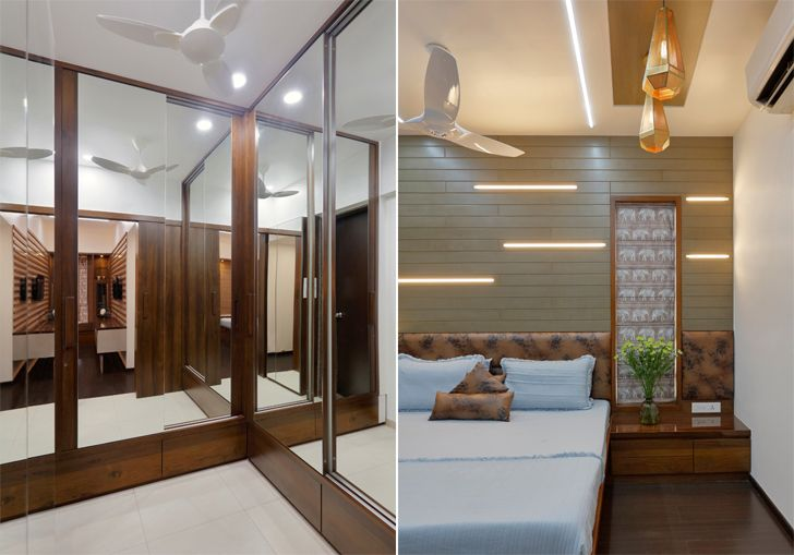 """""""mirrors pune residence cluster one creative solutions indiaartndesign"""""""
