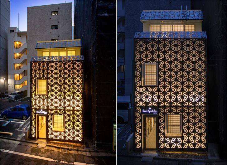 """""""facade shinjuku miyabi hotel tokyo himematsu architecture indiaartndesign"""""""