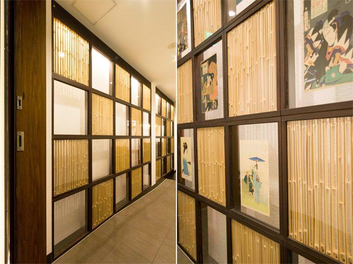 """latticed screen shinjuku miyabi hotel tokyo himematsu architecture indiaartndesign"""