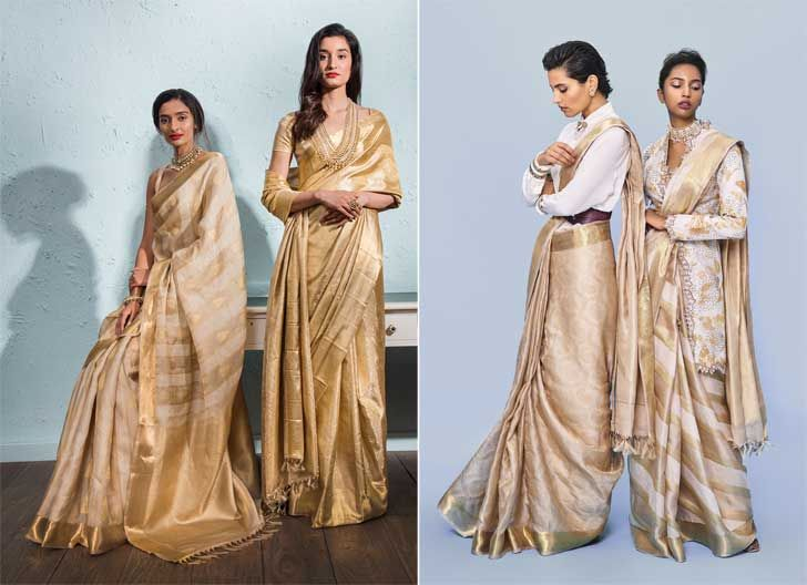 """advaya collection contemporary designs kanjivaram sari house of angadi indiaartndesign"""