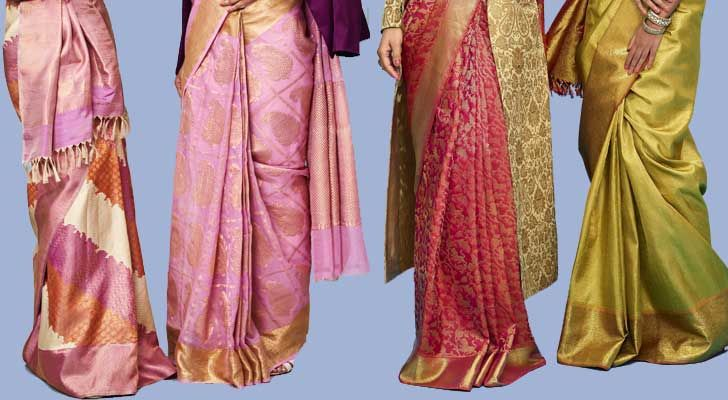 """advaya collection kanjivaram sari house of angadi indiaartndesign"""