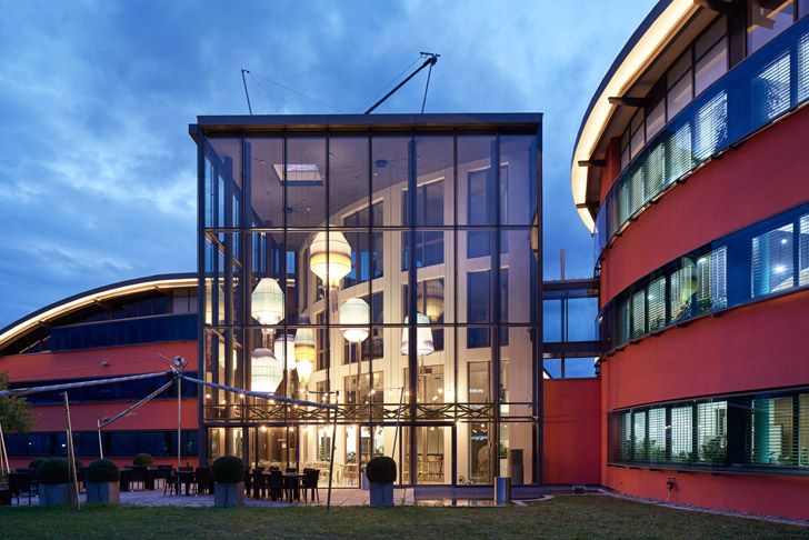 """building Roman Klis Design HQ Ippolito Fleitz Group indiaartndesign"""