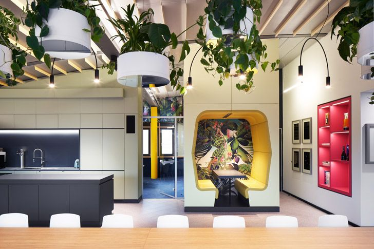 """""""flexi spaces Roman Klis Design HQ Ippolito Fleitz Group indiaartndesign"""""""