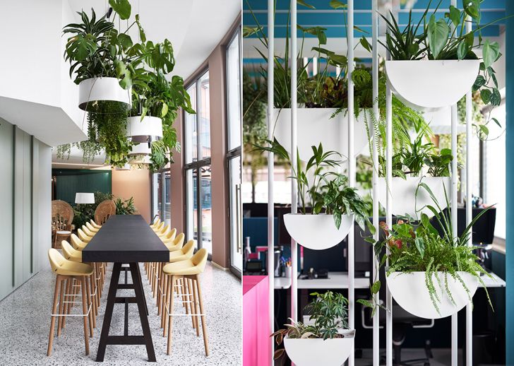"""""""greenery Roman Klis Design HQ Ippolito Fleitz Group indiaartndesign"""""""