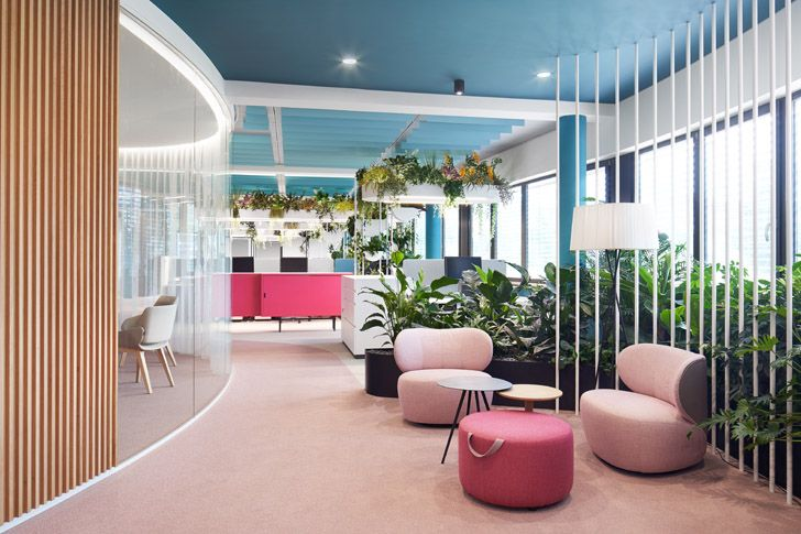 """informal gettogether areas Roman Klis Design HQ Ippolito Fleitz Group indiaartndesign"""
