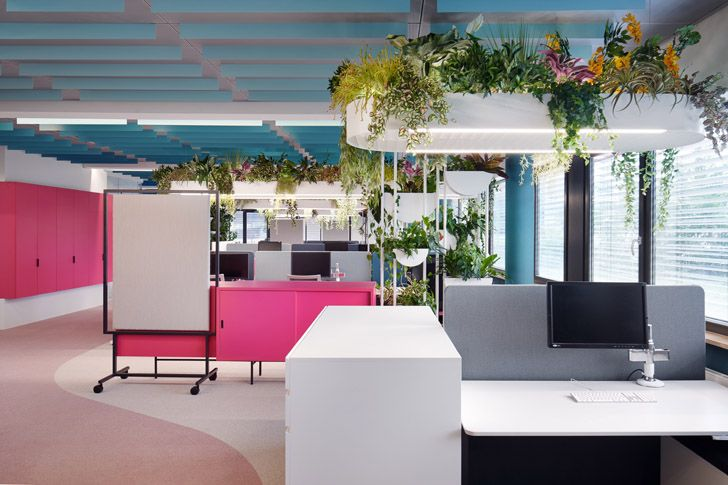 """office Roman Klis Design HQ Ippolito Fleitz Group indiaartndesign"""