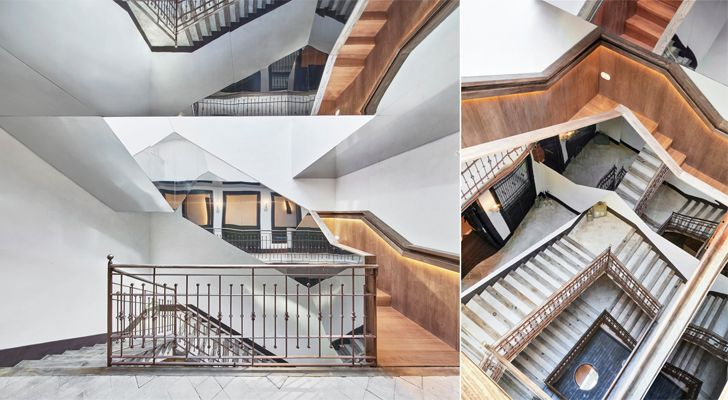 """""""staircase can bordoy OHLAB indiaartndesign"""""""