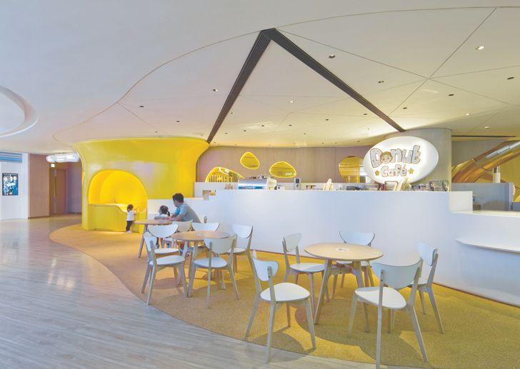 """""""cafe K11 MUSEA Donut Playhouse Panorama Design Group indiaartndesign"""""""