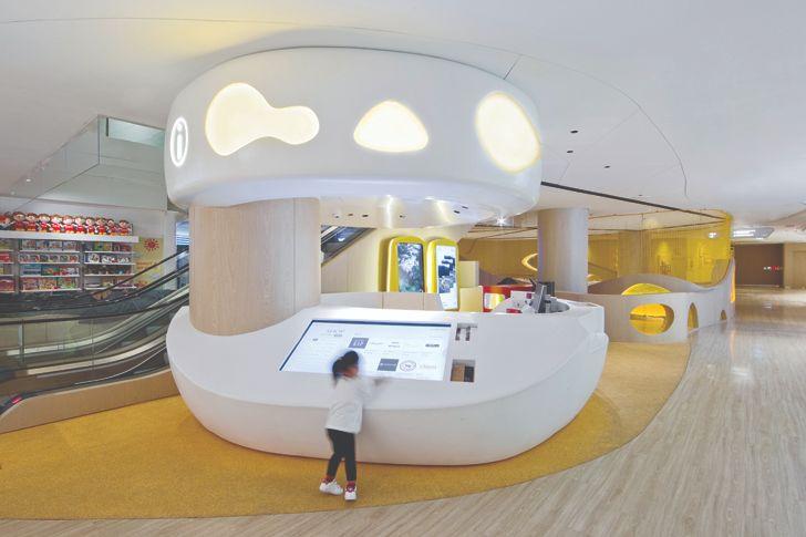 """concierge K11 MUSEA Donut Playhouse Panorama Design Group indiaartndesign"""