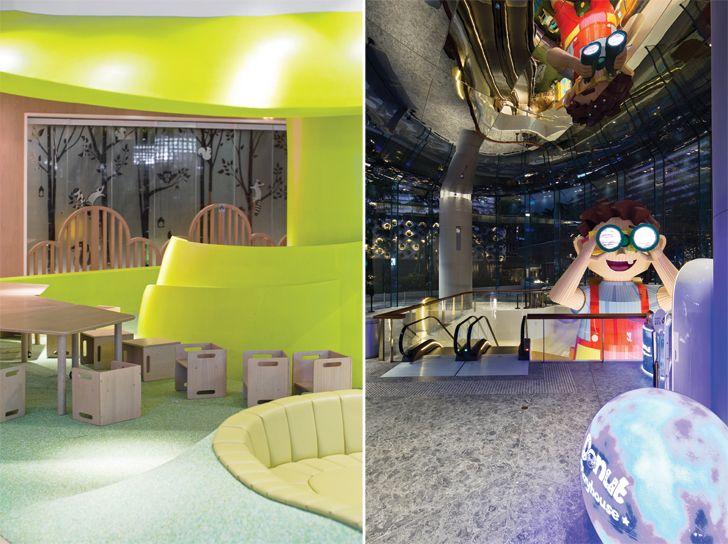 """entrance K11 MUSEA Donut Playhouse Panorama Design Group indiaartndesign"""