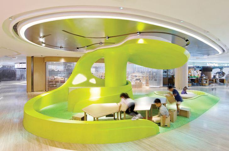 """mind zone K11 MUSEA Donut Playhouse Panorama Design Group indiaartndesign"""