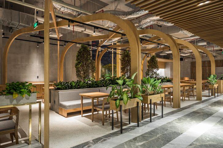 """""""concrete and wood Pizza 4Ps Emporium SEMBA indiaartndesign"""""""