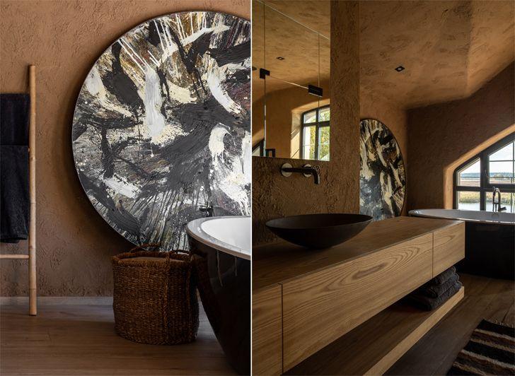 """vanity counter ukraine home wabi sabi sergey makhno architects indiaartndesign"""