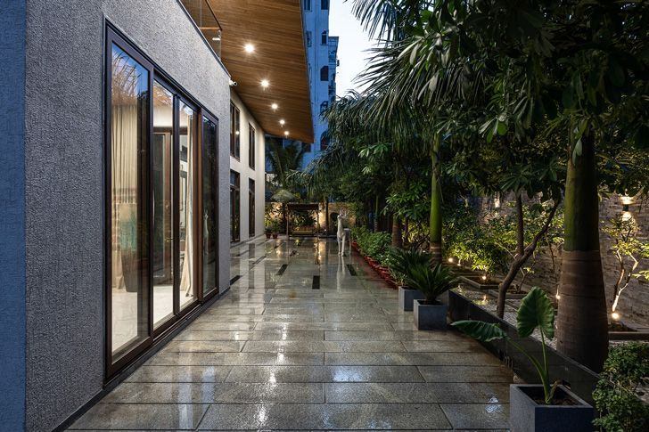 """""""green surrounds axis house nagpur the grid architects indiaartndesign"""""""
