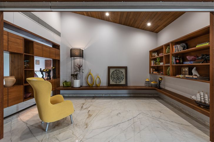 """""""library axis house nagpur the grid architects indiaartndesign"""""""