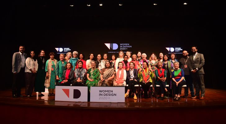 """women in design 2020 panellists speakers team indiaartndesign"""