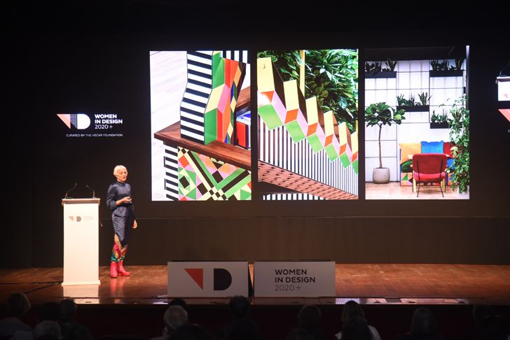 """women in design 2020 presenter morag myerscough indiaartndesign"""