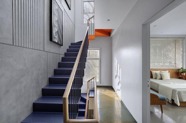 """""""staircase Porwal Residence DipenGadaAssociates indiaartndesign"""""""