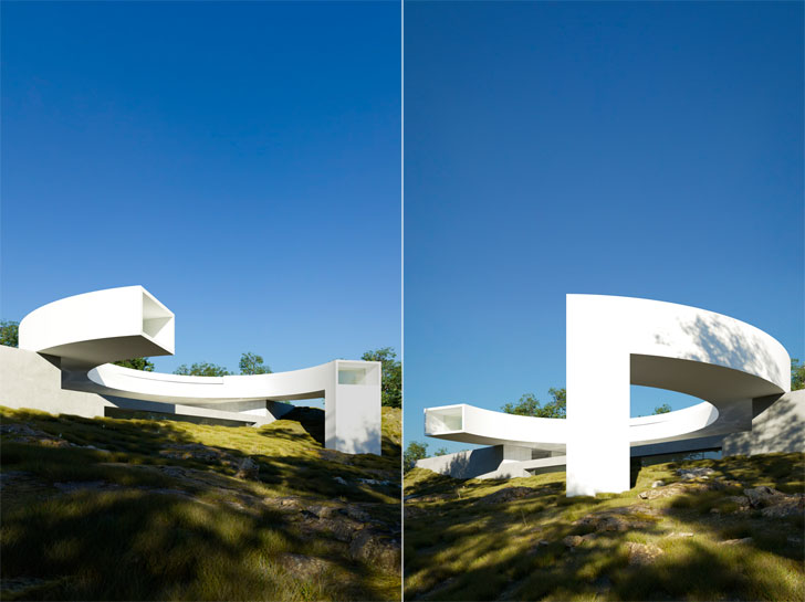 """House of the Sun FranSilvestreArquitectos indiaartndesign"""