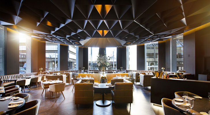 """ArthurRestaurant Toronto GH3Architects indiaartndesign"""