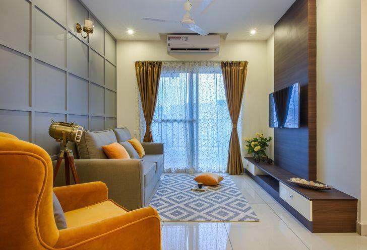 """living room BrigadeOrchard residence IBRDesigns indiaartndesign"""