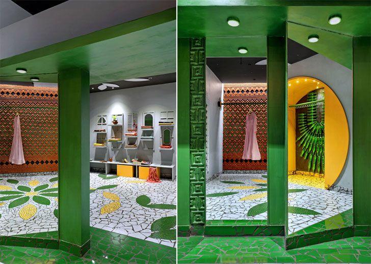 """dual mirrors ShefaliStudio ManojPatelDesignStudio indiaartndesign"""