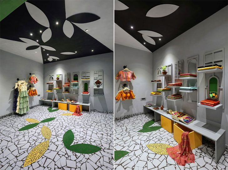 """flooring ceiling complement ShefaliStudio ManojPatelDesignStudio indiaartndesign"""